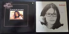 Nana Mousckouri - lot 2 LP - Ballades - je chante avec toi liberté
