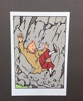 Carte postale Tintin. Le Sceptre d'Ottokar. Hergé Moulinsart édition Hazan