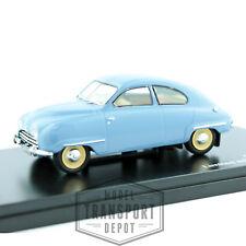 Triple 9 Saab 92b 1954 Light Blue Miniature Scale Model Car 1:43 BNIB T9-43057
