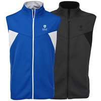 """50% OFF"" ISLAND GREEN MENS FULL ZIP THERMAL GOLF VEST / GILET / BODY WARMER"