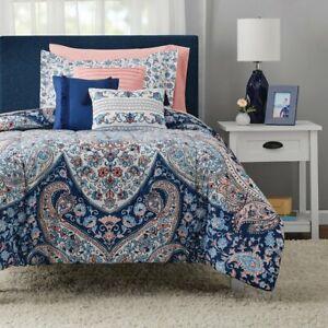 Mainstays Gypsy Medallion 8-Piece Bed Bedding Set+ Pillows, Twin/Twin XL w/BONUS