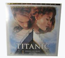 Laserdisc (LD) - TITANIC - Ein James Cameron Film - 2 Laserdiscs PAL NEU
