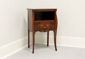 DREXEL French Provincial Flame Mahogany Nightstand