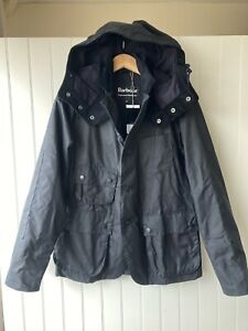 Barbour X Engineered Garment Upland Wax Jacket Coat Size X Small Navy RRP £449