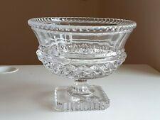 Ancienne Grande Coupe à fruits / cristal Vannes / 3,8 kg /Déco/ Art de la table