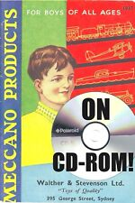 1930S MECCANO AUSSIE TOY CATALOGS ON CD-ROM! DINKY HORNBY TRAINS DUBLO TIN BOATS
