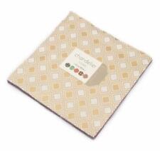 "Moda Layer Cake ~ Chandelier - Metallic ~ Studio M ~10""x10""Squares~ 100% Cotton"