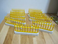 Schleich 12 Zaunelemente gelb für Zoo Pferdehof Bauernhof etc. Zäune #W8