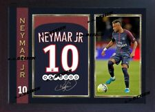 Nimar PARIS SAINT GERMAIN firmato autografo calcio memorabilia incorniciato