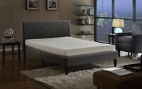 Swiss Ortho Sleep 6-Inch High-Density 2x Memory Foam Mattress, King