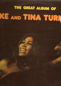 IKE AND TINA TURNER - THE GREAT ALBUM - 2 LP 33 T