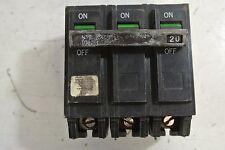 Ge Thql32020 3 Pole 20 Amp Circuit Breaker