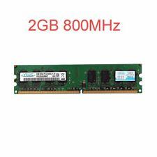 2GB / 1GB PC2-6400U DDR2-800MHz 240pin CL6 Unbuffered Desktop intel Memory LOT