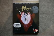 BLU-RAY THE HUNGER ( DAVID BOWIE ) PREMIUM EXCLUSIVE EDITION BRAND NEW SEALED