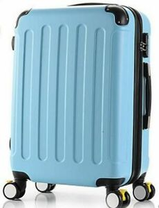 """Unisex Travel Luggage Spinner Trolley Wheeled Rolling Boarding Suitcase 20"""" 24"""""""