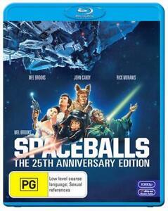 Spaceballs 25th Anniversary Edition BLU RAY New & Sealed Space Balls Mel Brooks