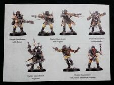 7 Traitor Guardsmen Blackstone Fortress Warhammer 40K Servant Abyss Chaos Damned
