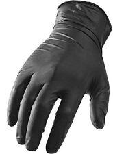 10 Pares de Guantes Látex Grande Negro Panthera Tatuaje