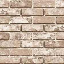 Vintage Brick Effect Self Adhesive Vinyl Wallpaper Living Room Walls Covering