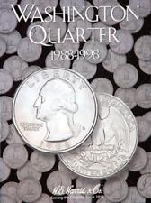 H.E. Harris Washington Quarter Coin Folder Book #4 1988-1998 #2691