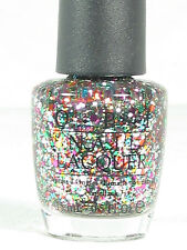OPI Nail Polish RAINBOW CONNECTION C09HL Discontinued Glitter Muppets