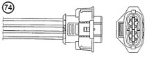 Lambda Oxygen Sensor for Vauxhall Astra H 01-10 1.2 1.4 1.6 OE 9193148