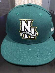 New Hampshire Fisher Cats New Era 5950 Fitted Hat Cap Size 7 3/4 NWT Made In USA