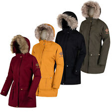 Regatta Womens Schima II Waterproof Long Padded Parka Jacket