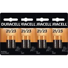8 Duracell A23 21/23 Batteries 12V 23A, A23BP, GP23, MN21, 23GA, 23AE