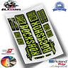 ROCKSHOX DOMAIN  FLUOR WP272 STICKERS AUFKLEBER DECALS AUTOCOLLANTS STICKERS