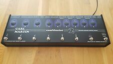 Carl Martin COMBINATOR 2 Effects Amp Switcher Programmable 3 Bank of 6 Pedals