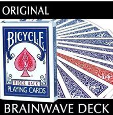 Brainwave Card Deck Red / Blue Bicycle Professional Magic Trick - Brain Wave