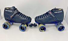 Riedell RS1000 Speed Roller Skates 7 Men/8 Women? Unknown Size, Black