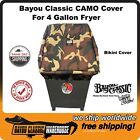 Bayou Classic Camouflage 700-701 4 Gallon Deep Fryer Cover Made in the USA 5004