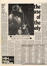 Led Zeppelin In the house of the holy MM3 Interview 1973