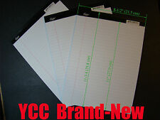 iScholar Legal Ruled Perforated Writing Pad 50 s' 8-1/2x11-3/4in White, 3 pk