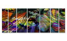 Contemporary Metal Wall Sculpture Painting by Ash Carl Modern Home Décor