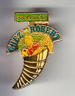 RARE PINS PIN'S .. ANIMAL COQUILLAGE SHELL CONQUE PRIMEUR FRUIT CHEZ ROBERT ~BS