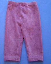 New W/Tags Gymboree Fall Forest Purple Velour Leggings Girl's Size 6-12M