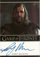 "Game of Thrones Season 1 - Rory McCann ""Sandor Clegane"" Autograph Card"