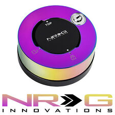 NRG Steering Wheel Quick Release Hub LOCK - NEO CHROME | SRK-101MC 2.0 2.5 3.0