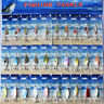 30x Good Assorted Metal Spinner Baits Fishing Spinners Lures Salmon Bass OZ
