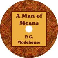 A Man of Means, P. G. Wodehouse Audiobook unabridged Fiction English 3 Audio CDs