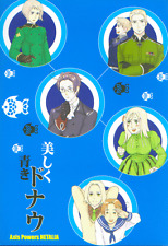 Hetalia Axis Powers Doujinshi young Friedrich II + x Prussia Germany + Austria B