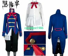 Black Butler Drocell Cainz Cosplay Costume Hat coat pants Shirt Any size