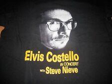ELVIS COSTELLO VINTAGE TOUR TEE SHIRT XL