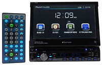 "Planet Audio P9759B 7"" Single-Din In-Dash Car DVD/CD Receiver w/Bluetooth USB/SD"