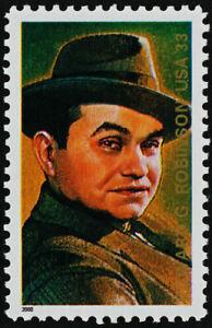 United States Stamp Edward G. robinson, Mnhog, XF,