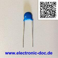 47pF x 6000V (47J 6KV) Hochspannung Keramik-Scheiben-Kondensator für DPS-298CP