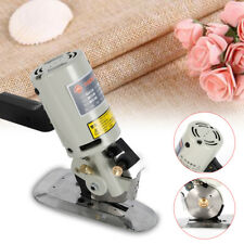 Electric Cloth Cutter Fabric Leather Textile Cutting Machine 90mm Rotary Blade